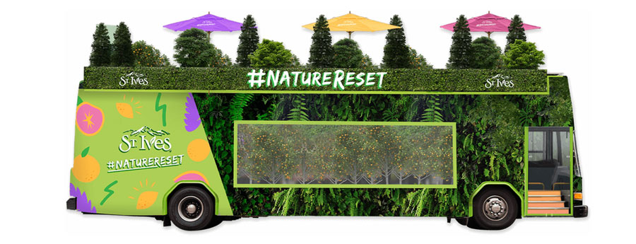 St Ives #NatureReset Bus