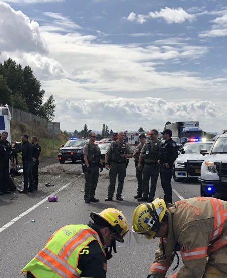 near death experience police chase crash clackamas county