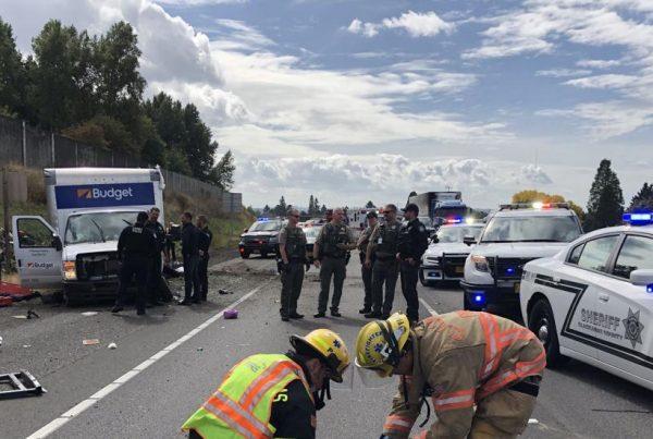 near death experience police chase crash clackamas county