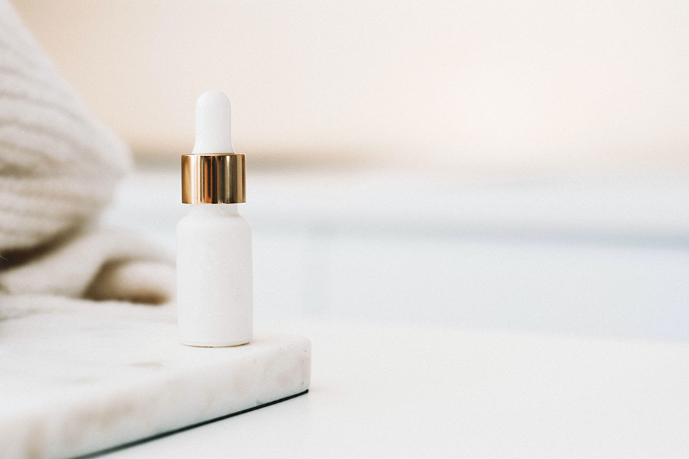 budget friendly skincare product on a white table